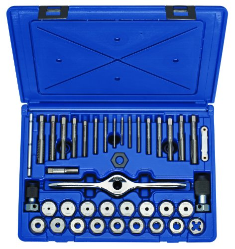 Irwin Tools 1841346 Performance Threading System Self-Aligning Tap and Die Set -Machine Screw/Fractional, 40-Piece (Irwin Sae Tap And Die Set compare prices)