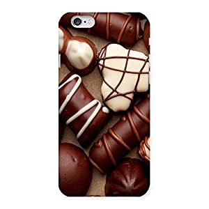 Ajay Enterprises Choclate an sweets Back Case Cover for iPhone 6 6S