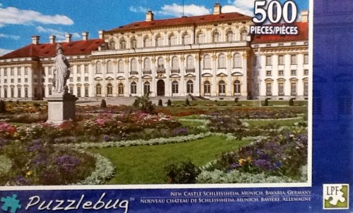 500 Piece Jigsaw Puzzle By Puzzlebug New Castle, Schleissheim Munich Bavaria Germany