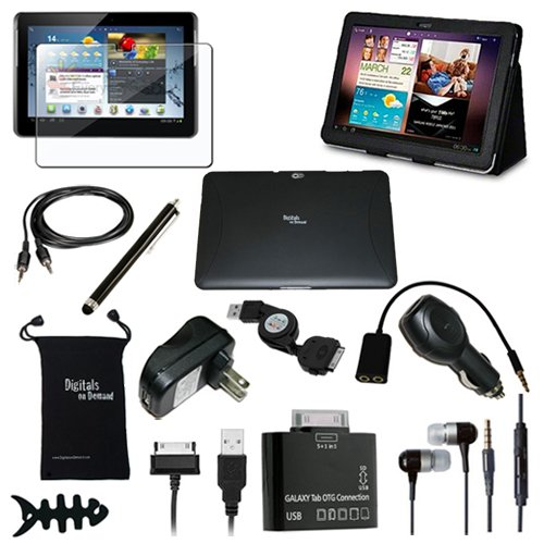 Why Choose The DigitalsOnDemand 14-Item Accessory Bundle for New Samsung Galaxy Tab 2 (10.1-Inch, Wi...