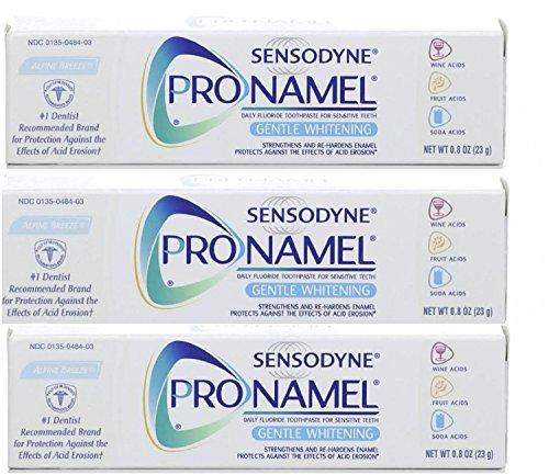 Sensodyne Toothpaste, Gentle Whitening, Alpine Breeze Travel