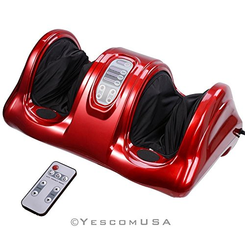 Aw Kneading Rolling Foot Leg Massager Calf w/