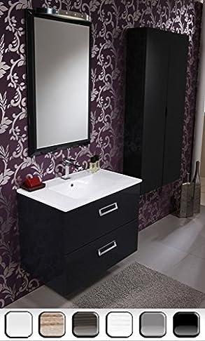 Mobile Arredo Bagno 74cm sospeso disponibile lavabo con specchio Mobili