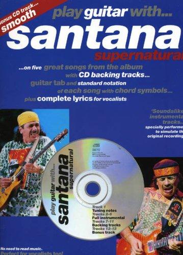 PLAY GTR SANTANA SUPERNAT.+CD (Play guitar/bass/drum/PF..with)