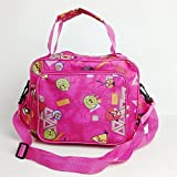 Outdoor picnic cooler bag picnic bag fashion color picnic cooler bag (Rose Red)