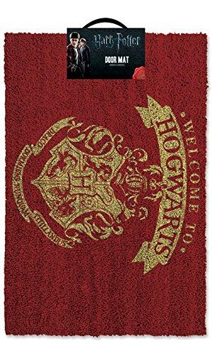 Harry Potter Welcome to Hogwarts Zerbino, Rosso e oro