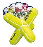 KONG Air Dog Squeaker Jack Dog Toy, Large, Yellow