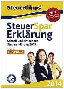 Steuer-Spar-Erklärung 2014 (für Steuerjahr 2013) [Download]
