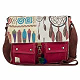 #2: The House Of Tara Women's Messenger Bag Multicolour Htmb 016
