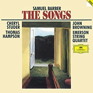 Samuel Barber, Cheryl Studer, Thomas Hampson, John Browning, Emerson ...