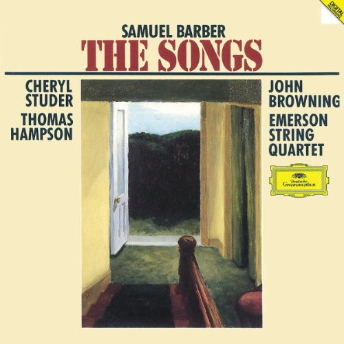 Complete Songs of Samuel Barber ~ Secrets of the Old