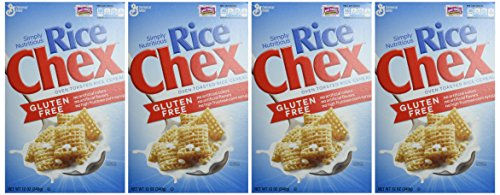General Mills Rice Chex Gluten Free 12 oz. 4 Pack (Chex Cereal Rice compare prices)