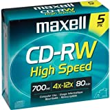 12X High-Speed Rewritable Cd-Rw