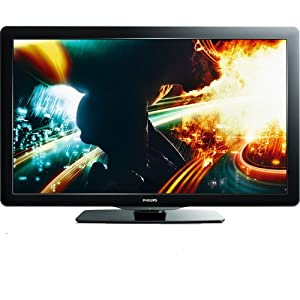 Philips 55PFL5706/F7 55-inch 1080p 120 Hz LCD HDTV with Wireless Net TV, Black (2011 Model)