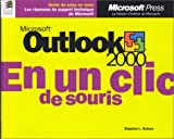 echange, troc Stephen L. Nelson - Microsoft Outlook 2000 en un clic de souris