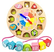 Elloapic Children's Teaching Clocks T…