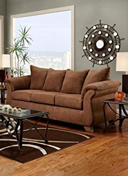 Chelsea Home Furniture Payton Sofa - Aruba Chocolate