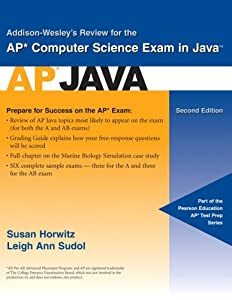 Addison-Wesley's Review for the AP Computer Science Exam in Java (2nd ...