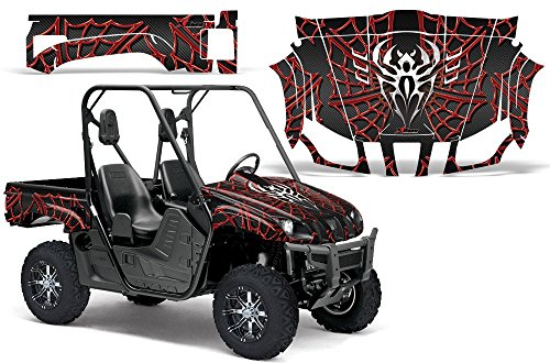 2004-2013-Yamaha-Rhino-450660700-AMRRACING-SXS-Graphics-Decal-KitWidow-Maker-Red-Black