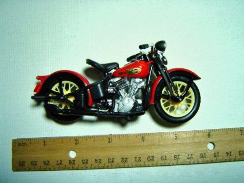 Harley Davis Motorcycle 1936 El Knucklehead 1/18 Series 10