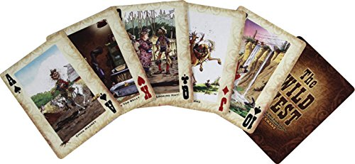 Rivers Edge Humorous Wild Western Playing Cards - 1