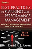 img - for Best Practices in Planning and Performance Management: Radically Rethinking Management for a Volatile World by David A. J. Axson (2010-08-02) book / textbook / text book