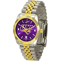 "Northern Iowa Panthers NCAA AnoChrome ""Executive"" Mens Watch"