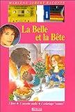 echange, troc Jeanne-Marie Leprince de Beaumont - La Belle et la Bête raconté par Marlène Jobert (livre-cassette-coloriage)