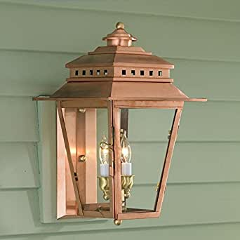 Norwell Lighting New Orleans Copper Outdoor Wall Light