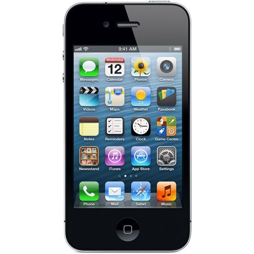 Apple Iphone 4 8Gb, Black, For Straight Talk, No Contract front-725787