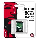 Kingston 8GB SD SDHC Class 10 Memory Card For Panasonic Lumix DMC-TZ40, Panasonic Lumix DMC-TZ35, Panasonic Lumix DMC-FZ200, Nikon Coolpix P520, Canon Powershot SX50 HS, Sony Cybershot DSC-RX100, Canon Ixus 255 HS, Nikon Coolpix S9500, Olympus Tough TG-8