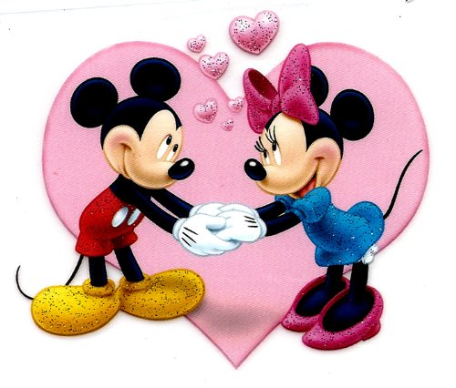 Mickey And Minnie Mouse Holding Hands Drawing Wwwimgkid