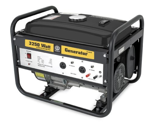 Steele Products Sp-Gg300 3,250 Watt 4-Cycle Gas Powered Portable Generator