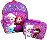 Disney Frozen Backpack, Lunch Box, Grade School Supplies Bundle. Includes: Elmer's Glue, Prang Watercolors, Fiskars Scissors, Index Cards, 0Crayola Colored Pencils, #2 Pencils, Red Ink Pens, Black Ink Pen, Spiral Wide Ruled Notebooks, Marbled Composition Book, 2 Pocket Folders. Plastic Ruler, Wide Ruled Notebook Paper, 24 Crayola Crayons, Elmer's Glue Sticks, Pink Pearl Eraser, Cap Erasers. 31 Pieces.