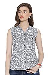 OSHEA Women's Shirt (1136SHRT, Grey, M)