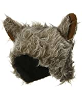 Wolf Hat - Grey Brown W39S15A