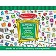 Melissa & Doug - 4191- Loisir Cr�atif - Sticker Collection - Alphabet et Chiffres - 1000 etiquettes