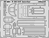 Eduard Photoetch 1:48 - F101A/C Interior S.A. (Kitty Hawk 80115)