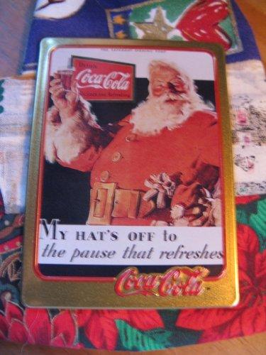 1931 Coca-Cola Santa Card (1994 Limited Edition Metal Card)