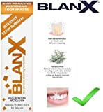 2x Intensive Stain Removal Non-Abrasive Whitening Toothpaste 75ml by BlanX