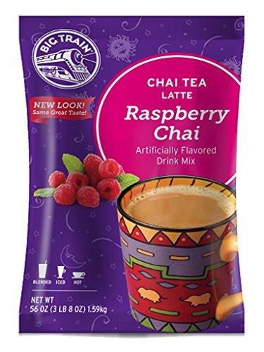 Big Train Chai Tea Latte, Raspberry, 3.5 Pound by Big Train (Big Train Raspberry Chai compare prices)
