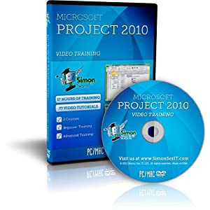 Microsoft Project 2010 Software Training Tutorials - 17 Hours