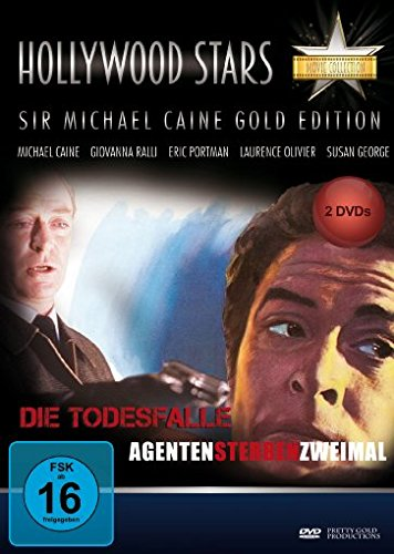 Hollywood Stars - Michael Caine Collection (Die Todesfalle+Agenten sterben zweimal) [2 DVDs]