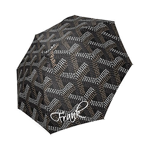 sweet-life-custom-rain-umbrella-black-goyard-foldable-umbrella-windproof-and-waterproof-travel-umbre