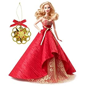 Barbie 2014 Holiday Doll with Ornament