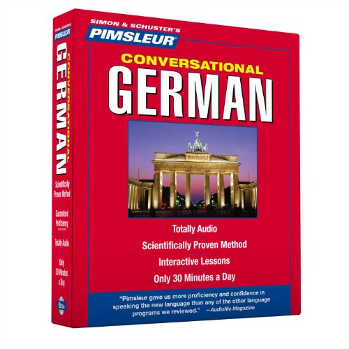 Pimsleur German Conversational Course - Level 1 Lessons 1-16 CD: Learn to...