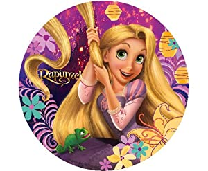 Tangled rapunzel edible cupcake toppers decoration kitchen dining - Rapunzel pictures download ...
