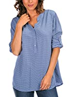 Bleu Marine Blusa Dolly (Azul)