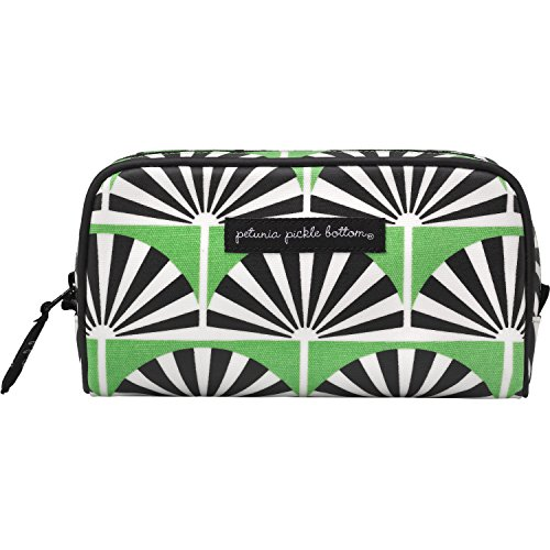 Petunia Pickle Bottom Powder Room Case in Playful Palm Springs, Green (Petunia Pickle Powder compare prices)