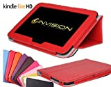 Invision® Compact & Comfort Cases TM for Amazon Kindle Fire HD / Kindle Wi-Fi, 6